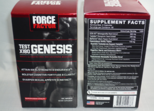 Force Factor Test x180 Genesis