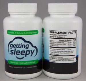 Getting Sleepy Sleep Aid