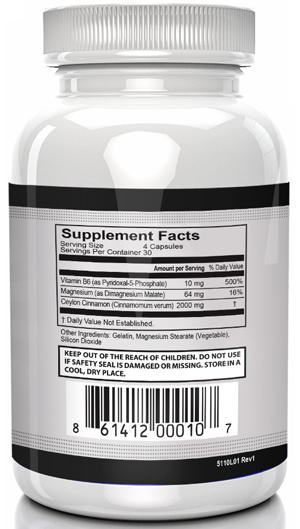 StrictionBP Ingredients