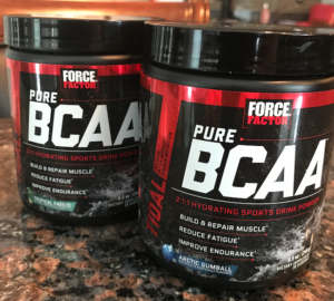 The new supplement from Force Factor, Pure BCAA