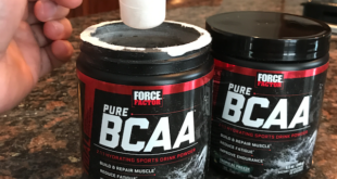 Force Factor Pure BCAA Post-Workout Recovery Supplement